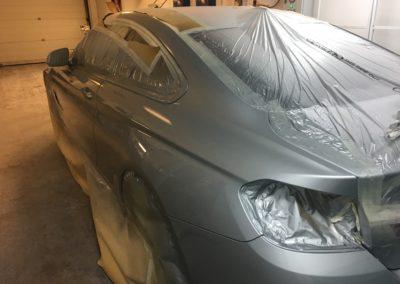 BMW silver 4