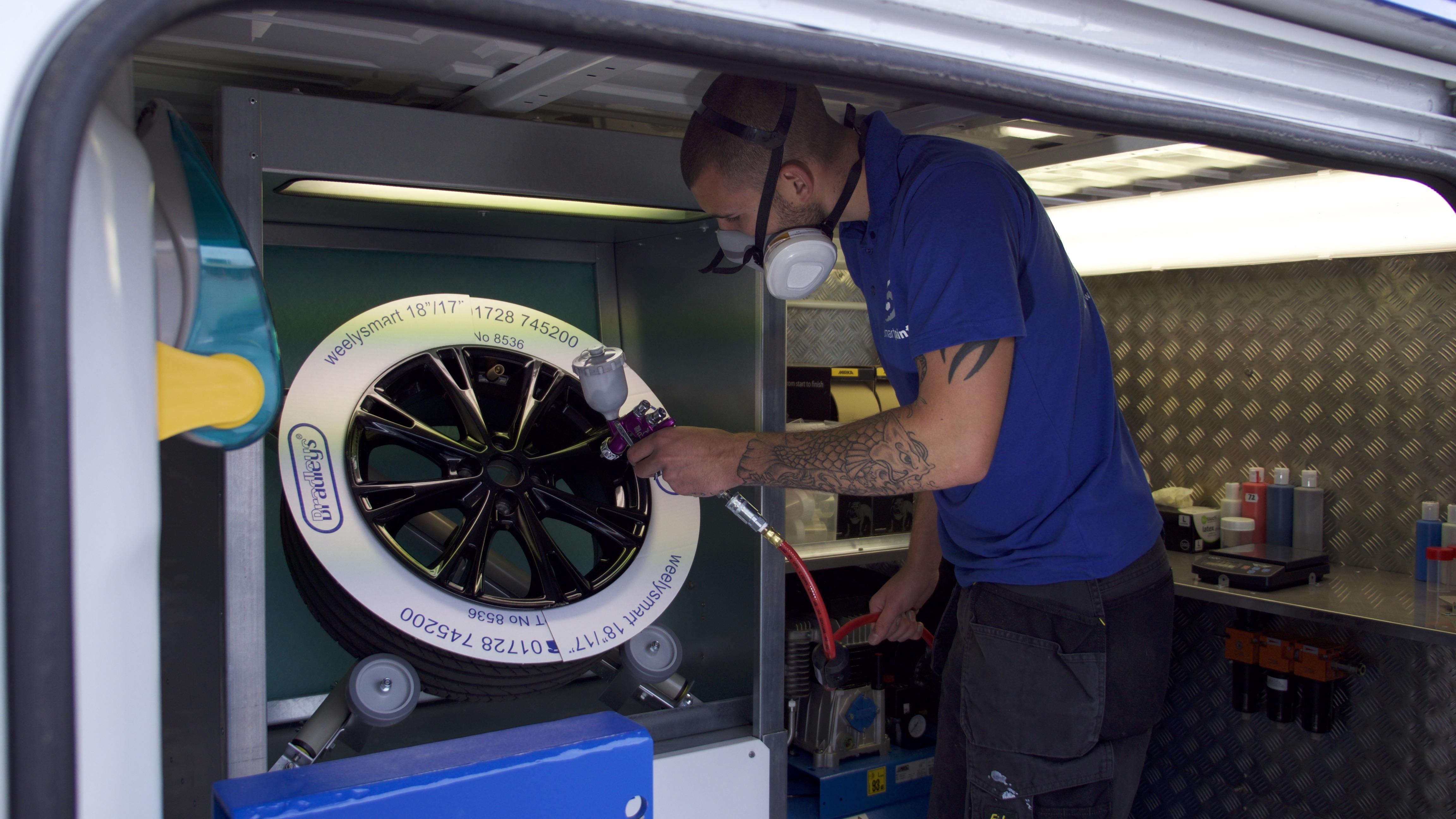 Alloy Wheel Refurbishment Lancing