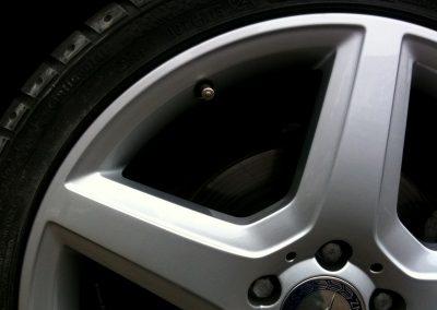 merc alloy wheel repair after